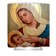Christianity - Baby Jesus Shower Curtain