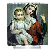 Christianity - Holy Family Shower Curtain