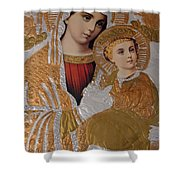 Christianity - Mary And Jesus Shower Curtain