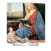 Christianity - Reading Time Shower Curtain