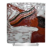 Christine - Tile Shower Curtain