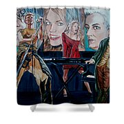 Christine Anderson Concert Fantasy Shower Curtain