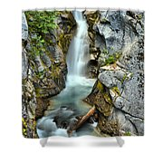 Christine Falls In The Canyon Shower Curtain