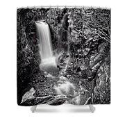 Christine Falls, Mt Rainier National Park Shower Curtain