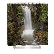 Christine Falls Mt Rainier Washington Shower Curtain
