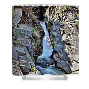 Christine Falls - Upper Part - Mount Rainier National Park 3 Shower Curtain