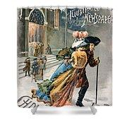 Christmas, 1890 Shower Curtain