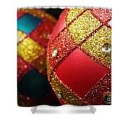 Christmas Abstract 18 Shower Curtain