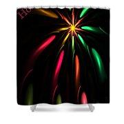 Christmas Card 110810 Shower Curtain