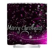 Christmas Card 2 Shower Curtain
