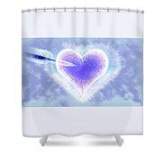 Christmas Card Lover 2015 Shower Curtain