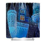 Christmas Castle Shower Curtain