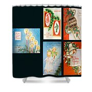 Christmas College 2 Shower Curtain