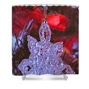 Christmas Composition Shower Curtain