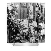 Christmas Eve, C1898 Shower Curtain by Granger