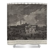 Christmas Eve Procession To San Giorgio Maggiore Shower Curtain