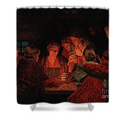 Christmas Fortune-telling. Shower Curtain