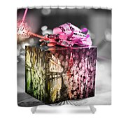 Christmas Gift V3 Shower Curtain