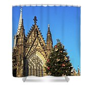 Christmas In Cologne Shower Curtain