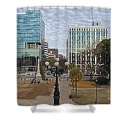 Christmas In Columbia Shower Curtain