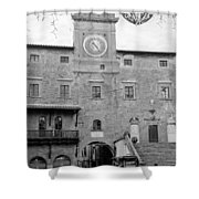 Christmas In Cortona Shower Curtain