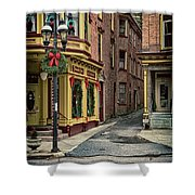 Christmas In Jim Thorpe Shower Curtain
