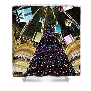 Christmas In Paris 2010 - #1 Shower Curtain