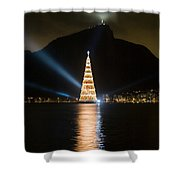 Christmas In Rio Shower Curtain