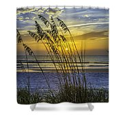 Christmas In St Augustine Fl  Shower Curtain