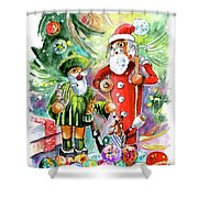 Christmas In York Shower Curtain