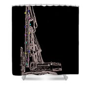 Christmas Intercoastal Abi Shower Curtain