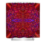 Christmas Light Abstract 3 Shower Curtain