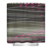 Christmas Lights 6th Ave 13 Abstract Shower Curtain