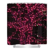 Christmas Lights 6th Ave 4 Abstract Shower Curtain