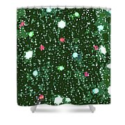 Christmas Lights No. 7-1 Shower Curtain