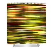 Christmas Lights Pan  Shower Curtain