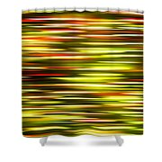 Christmas Lights Pan  Shower Curtain