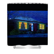 The Image Of Christmas Past Shower Curtain