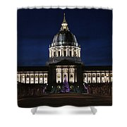 Christmas Night In Sf Shower Curtain