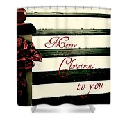 Christmas No. Eleven Shower Curtain