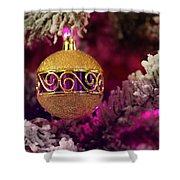 Christmas Ornament 2 Shower Curtain