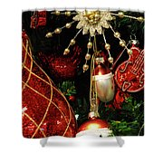 Christmas Ornaments 1 Shower Curtain