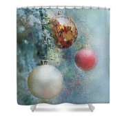 Christmas - Ornaments Shower Curtain