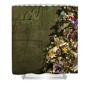 Christmas Peace Shower Curtain