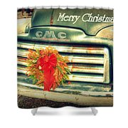 Christmas Pick Me Up II Shower Curtain