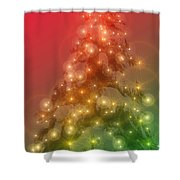 Christmas Radiance Shower Curtain