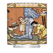 Christmas Stocking For You Shower Curtain