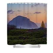 Christmas Time At The Rock Shower Curtain