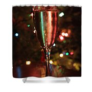 Christmas Toast Shower Curtain
