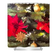Christmas Tree 6 Shower Curtain